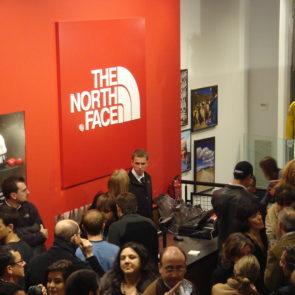 Evento para The North Face