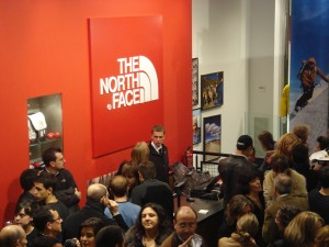 Evento para The North Face