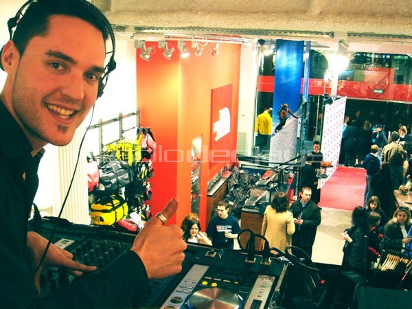 Evento para the north face. dj Ivan Jimenez