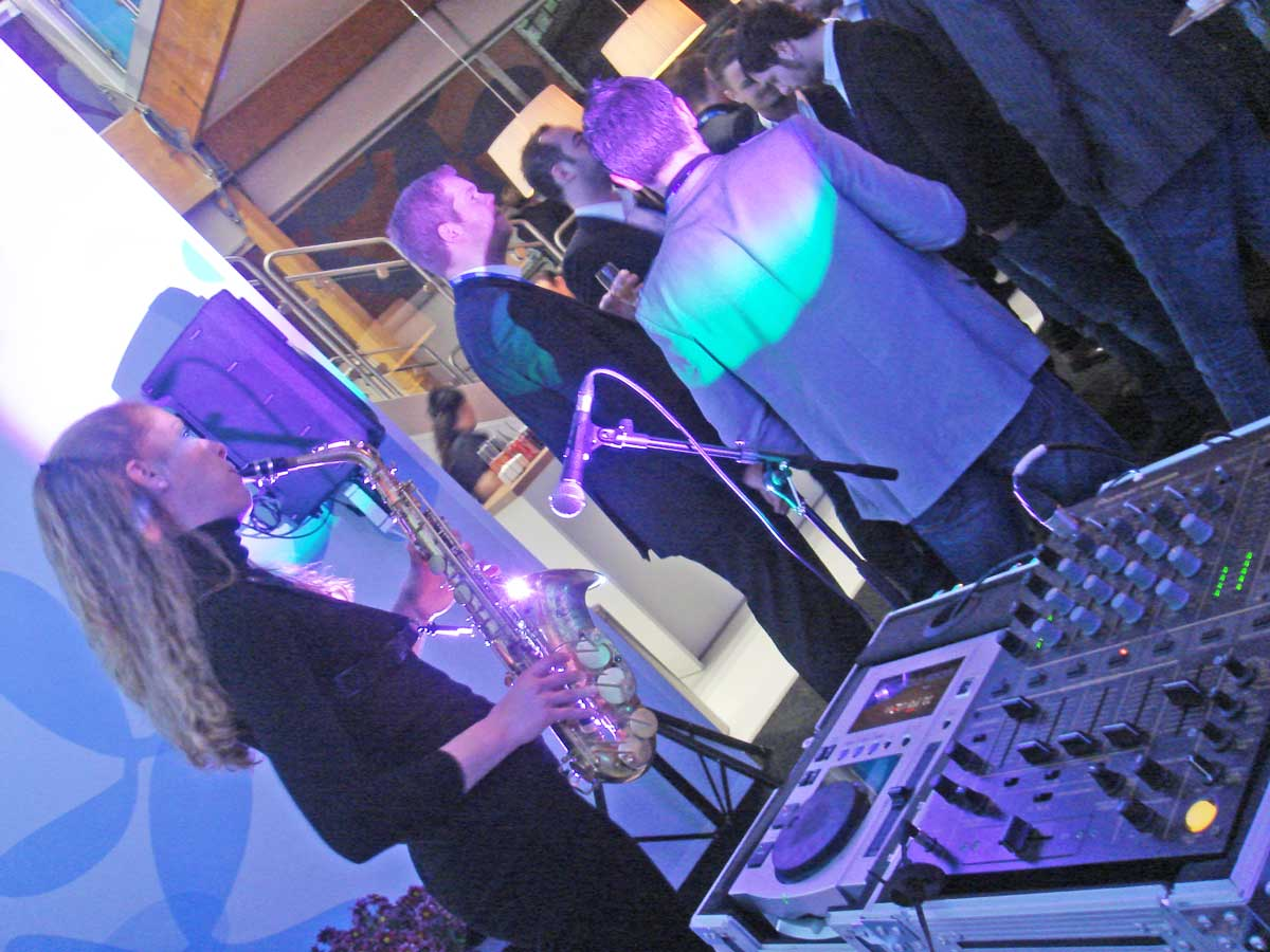 evento en Mobile World Congress GSM Barcelona. dj Ivan Jimenez