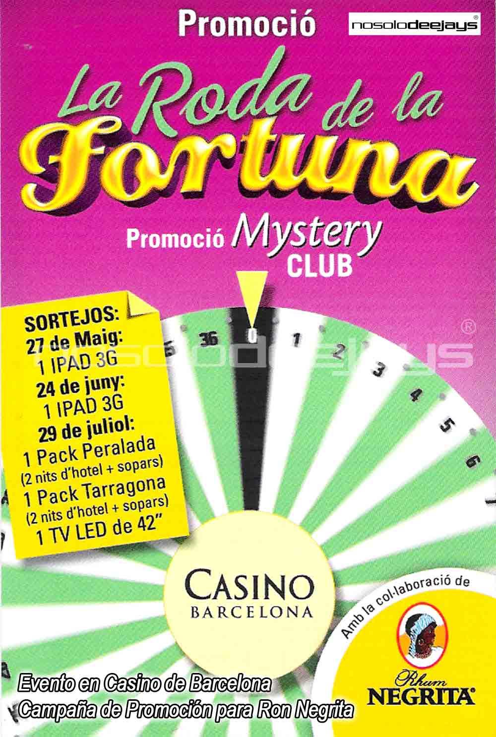Evento en Casino de Barcelona, Flyer