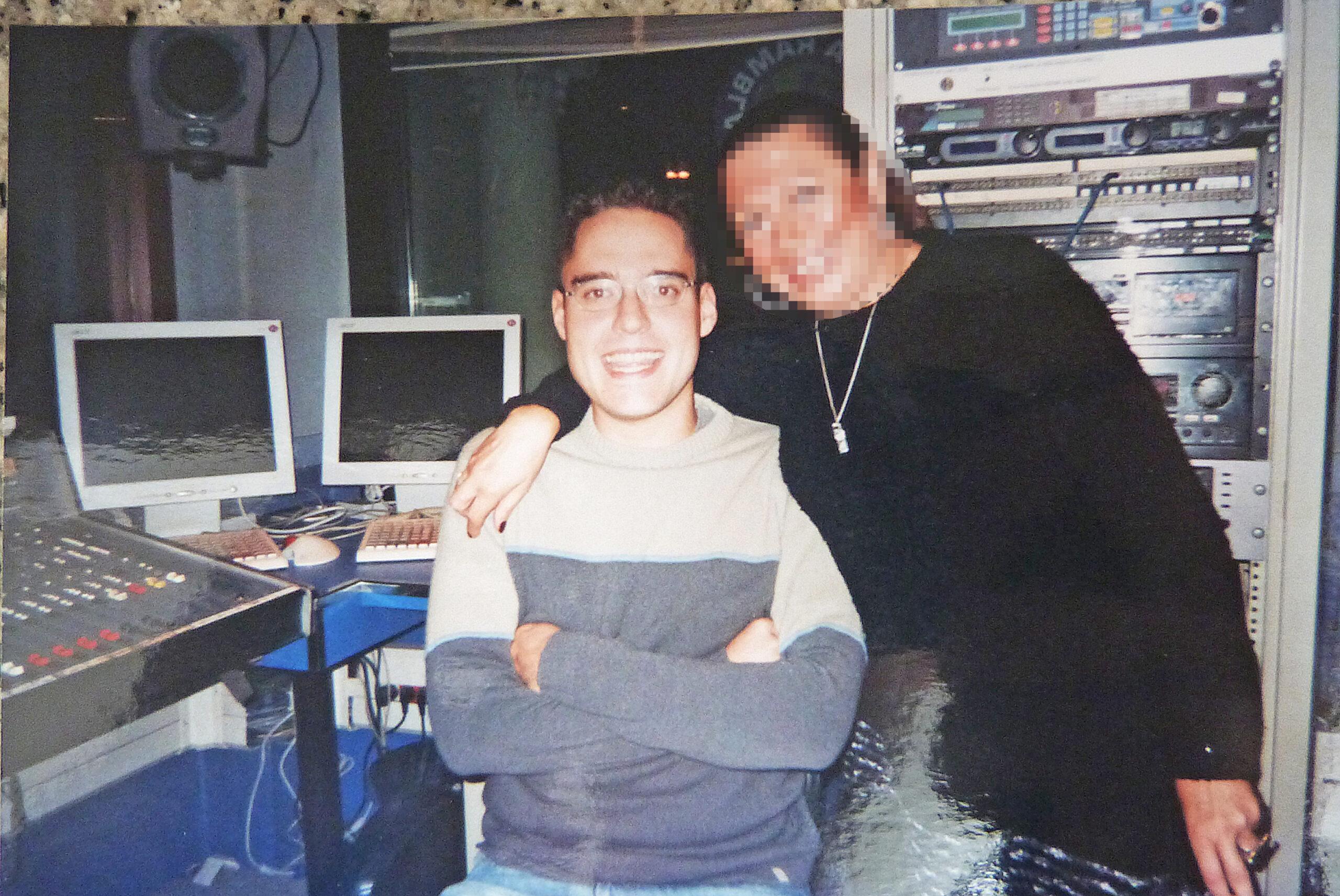 ivan jimenez con una compañera de la radio Onda Cero Cataluña